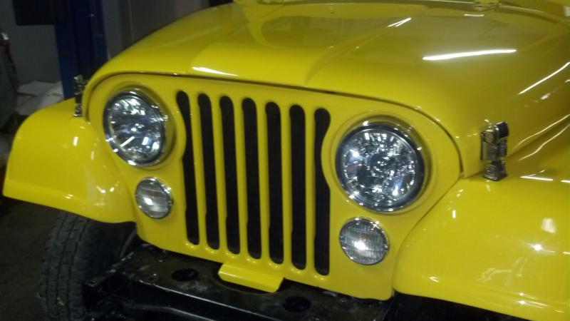 Old Jeep Night Headlights : Rudy s classic jeeps llc work in progress jan
