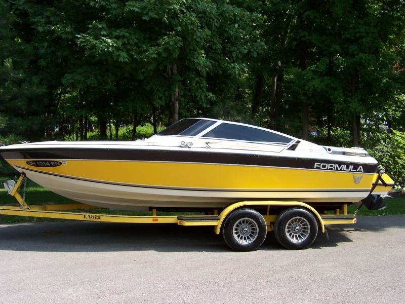 Chevy Trucks For Sale Near Me >> Rudy's Classic Jeeps LLC - Rudy's Boat for Sale. 86 Formula 206 Spider $9500 260HP Mercruiser ...