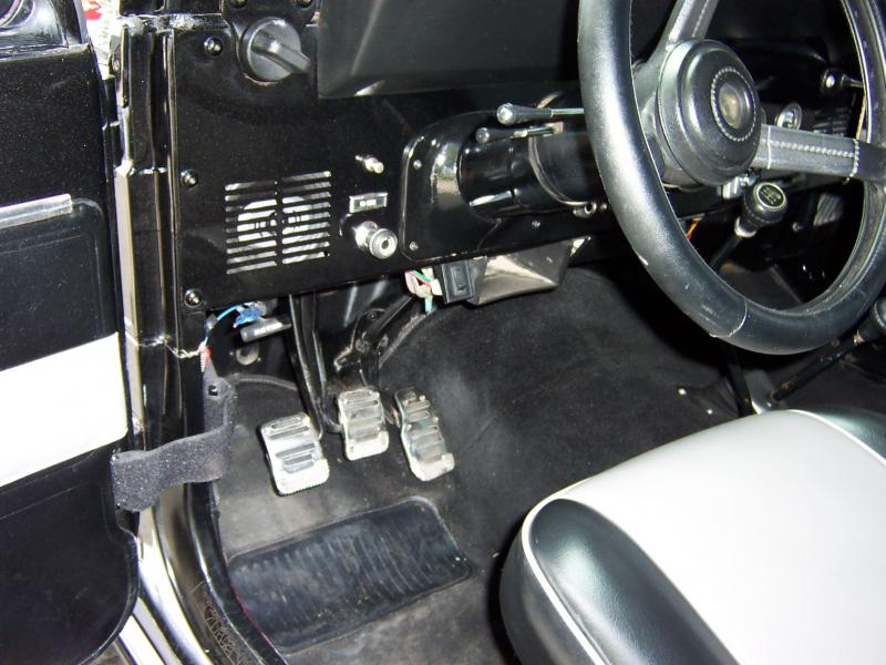 Rudy S Classic Jeeps Llc How To Convert A Manual Shift