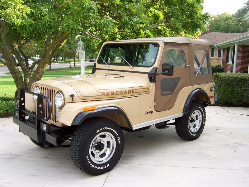 Gallery For > Jeep Cj5 Renegade