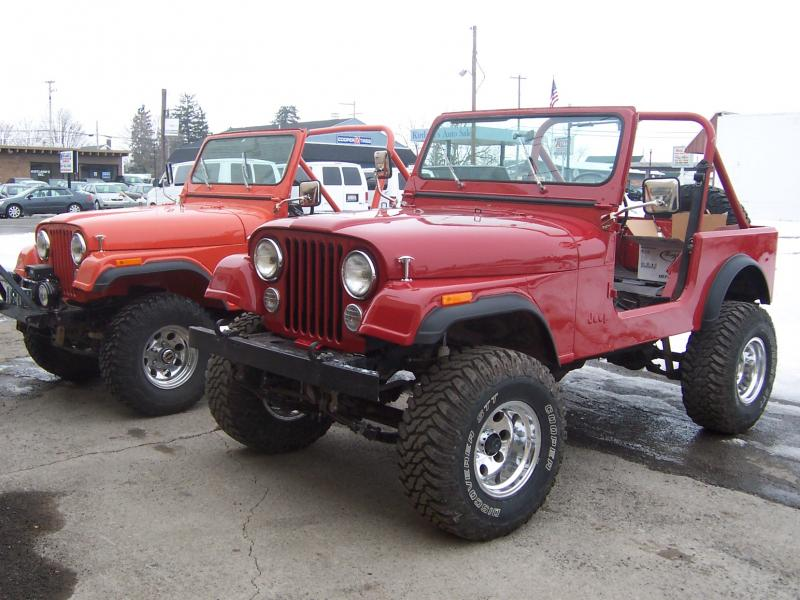 Rudy S Classic Jeeps Llc 85 Cj7 Desert Jeep In Original