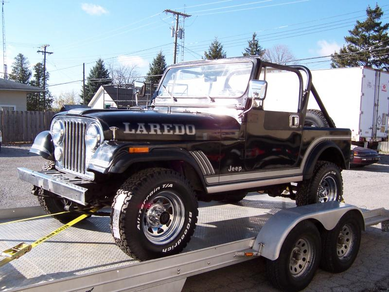 58k Low Mile Original 85 Laredo CJ7