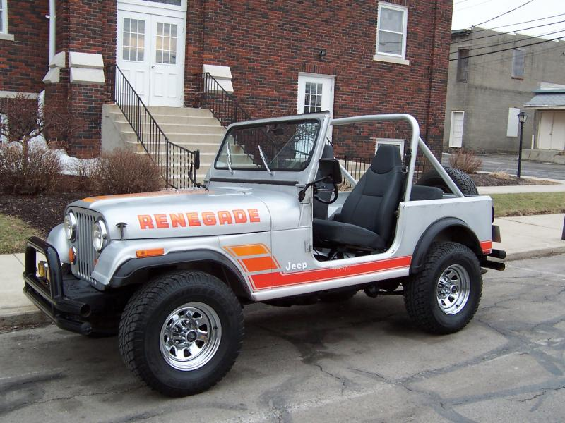 Rudy S Classic Jeeps Llc 84 Cj7 Renegade Original Paint
