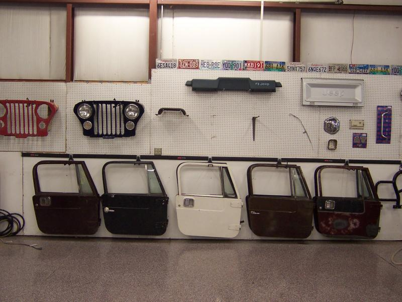 Jeep CJ7 HARD DOORS u0026 Jeep CJ-7 HARD TOP (s) FOR SALE & Rudyu0027s Classic Jeeps LLC - Jeep CJ7 HARD DOORS u0026 Jeep CJ-7 HARD TOP ...